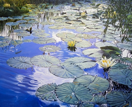 Lillies of the Gloaming